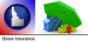 Boise, Idaho - types of insurance