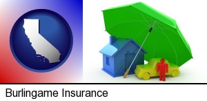 types of insurance in Burlingame, CA