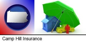 Camp Hill, Pennsylvania - types of insurance