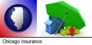 Chicago, Illinois - types of insurance