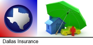 types of insurance in Dallas, TX