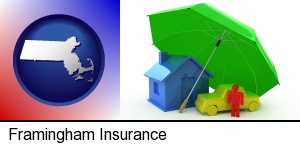 Framingham, Massachusetts - types of insurance