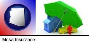 types of insurance in Mesa, AZ