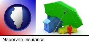 Naperville, Illinois - types of insurance