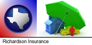 Richardson, Texas - types of insurance
