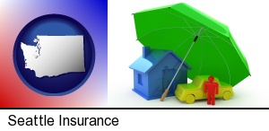 Seattle, Washington - types of insurance