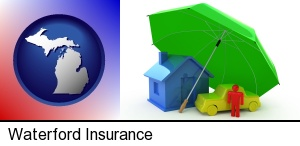 Waterford, Michigan - types of insurance