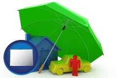 co map icon and types of insurance